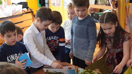 Дети рады книге
